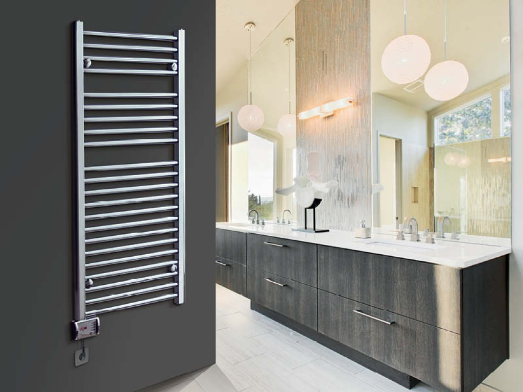 Zelfbouwmarkt elektrische verwarming voor uw badkamer