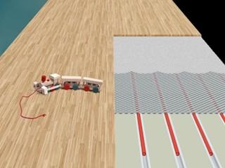 Parket leggen op verwarmde vloeren is perfect mogelijk