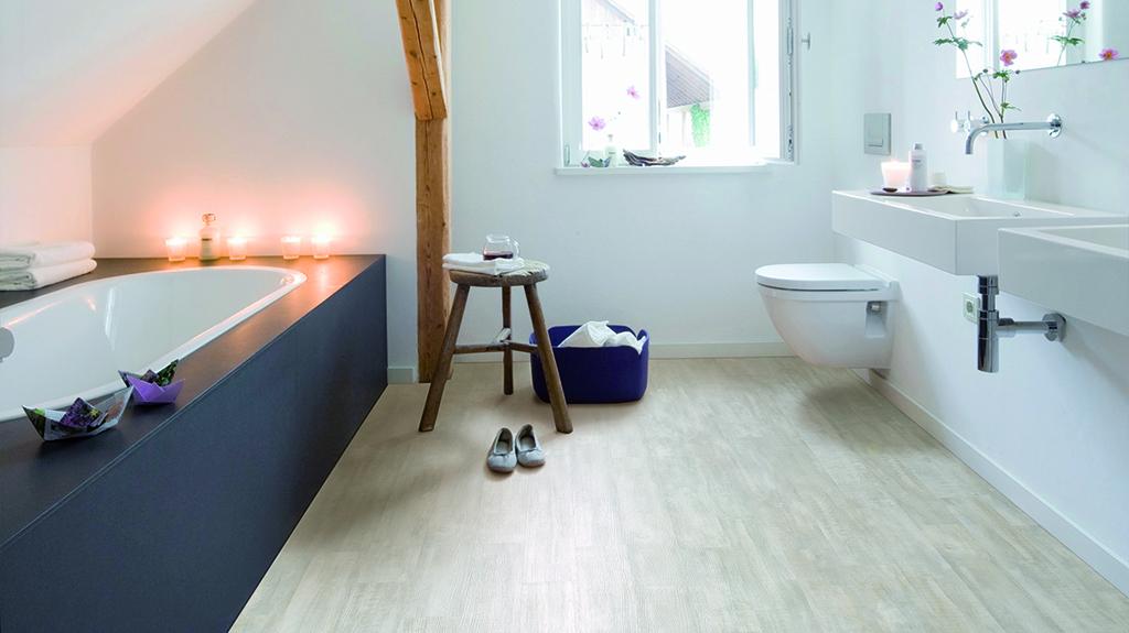 Zelfbouwmarkt - Kurkvloer Hydrocork voor badkamer - Onklopbare ...