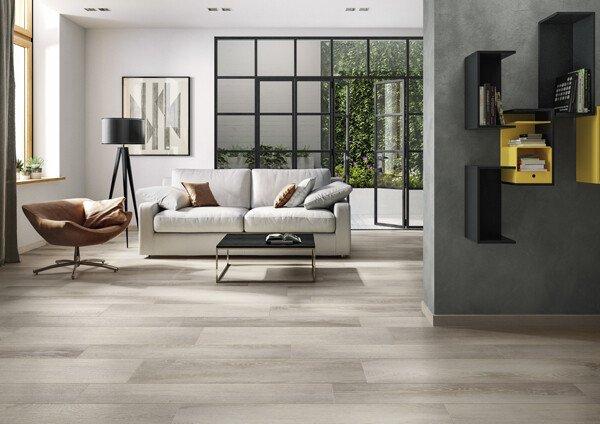 Zelfbouwmarkt keramische tegels met houtlook bouwen aan je thuis