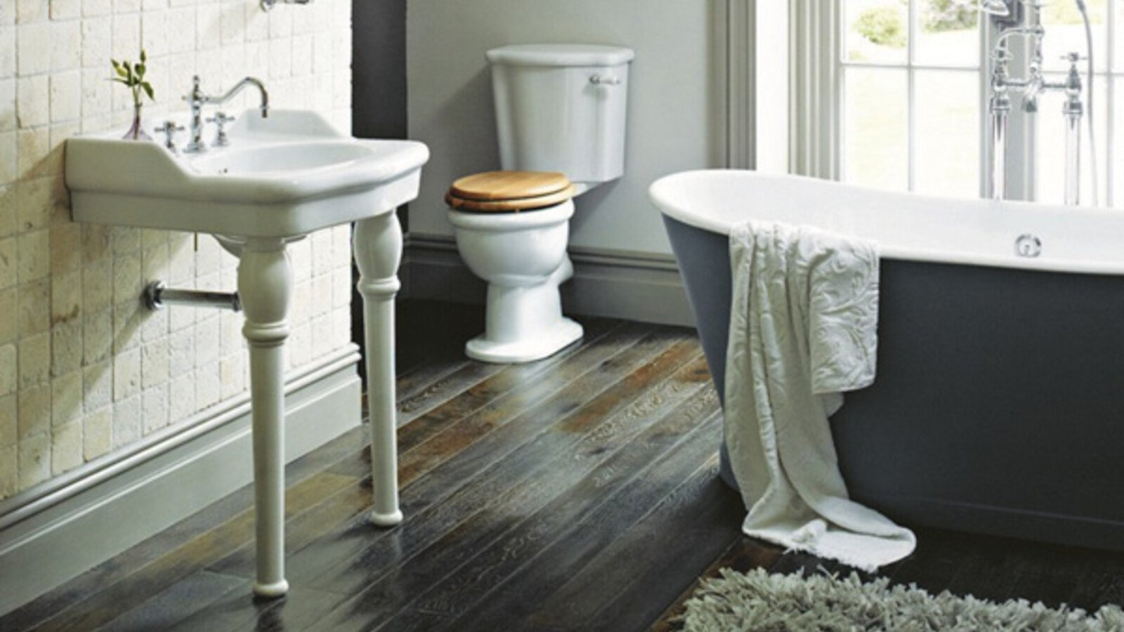Landelijke badkamer van boven landelijke badkamers