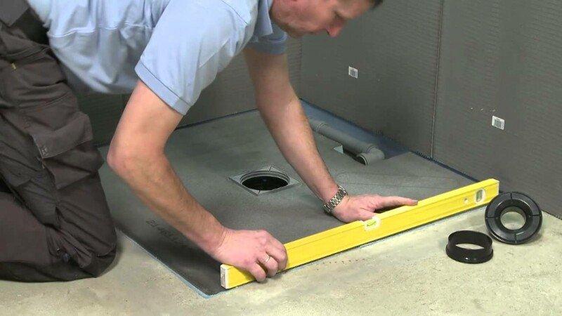 Hoe kan ik makkelijk een inloopdouche installeren