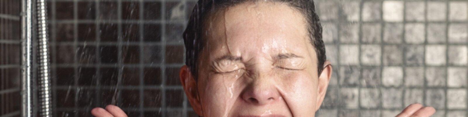 La douche du matin