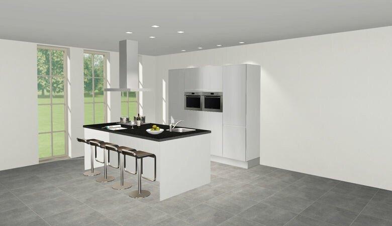 Welke keukenindeling past het beste bij jou jouw woning for Keuken 3d ontwerpen