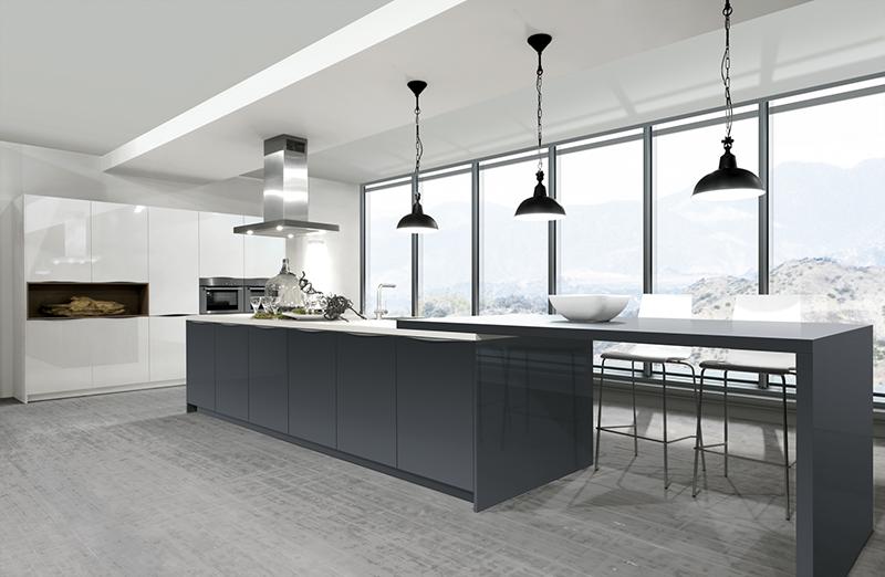 Keukenverlichting een ideale mix van sfeer functionaliteit for Verlichting keuken