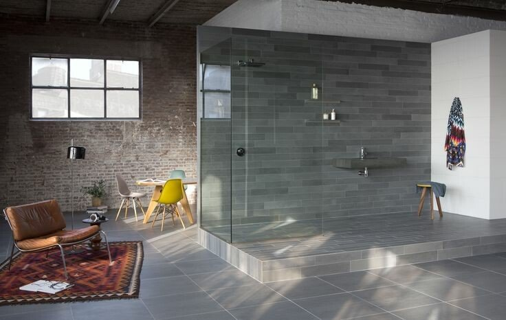 Badkamer Trends Tegels : Badkamertegels ideeën tips