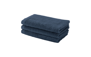Serviette invit Aquanova London 30x50cm indigo - Serviettes & gants de toilette