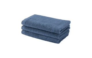 Serviette invit Aquanova London 30x50cm denim - Serviettes & gants de toilette