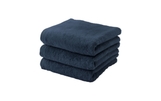 Serviette Aquanova London 55x100cm indigo - Serviettes & gants de toilette