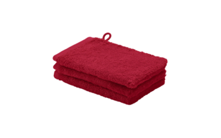 Gant de toilette Aquanova London 16x22cm chili pepper - Serviettes & gants de toilette