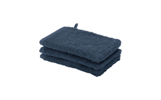Gant de toilette Aquanova London 16x22cm indigo - Serviettes & gants de toilette