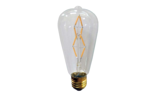 Lampe tube decor LED dimmable E27 4W 130lm - Ampoules led