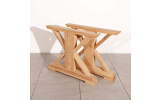 Base de la lame en bois - Tables
