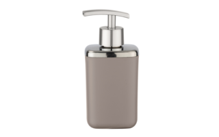 Zeepdispenser Wenko Barcelona taupe - Bekers, dispensers en schalen