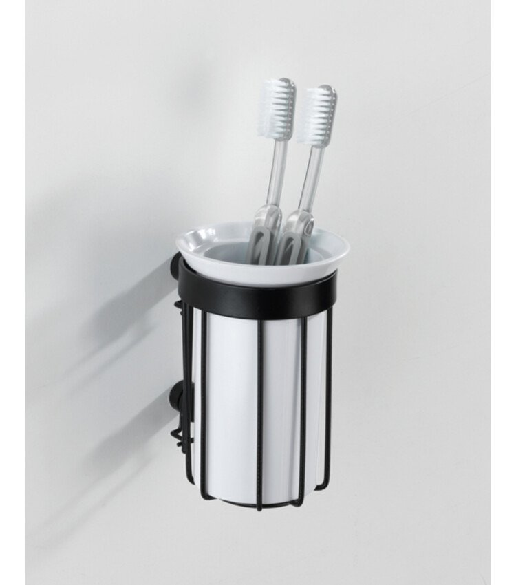 Beker Wenko Classic Plus zwart - Bekers, dispensers en schalen
