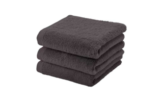 Aquanova serviette London 55x100 cm chocolate - Serviettes & gants de toilette