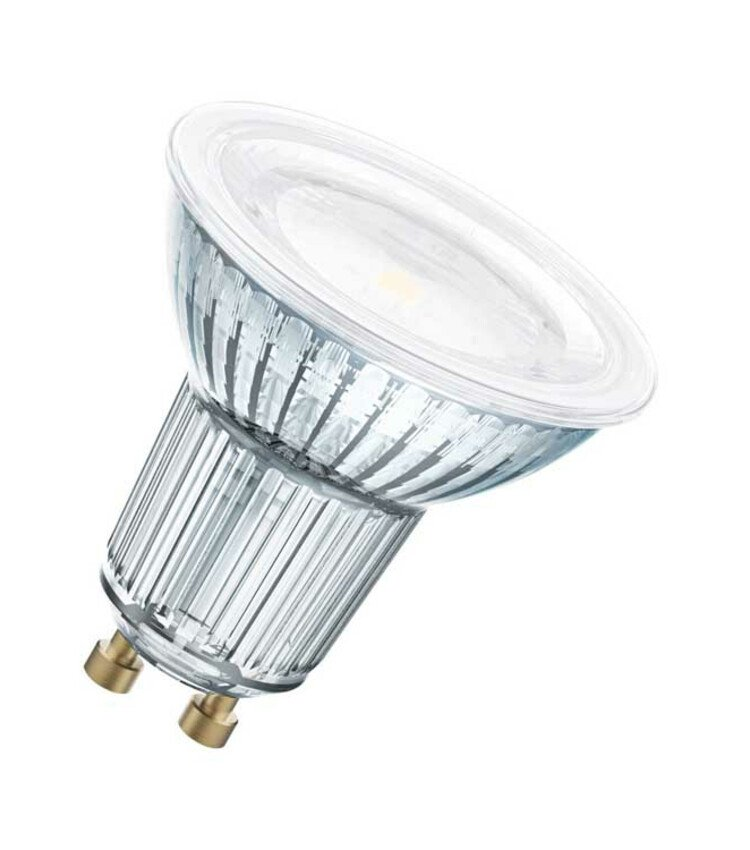 Led lamp 4,3W/827 230V GU10 helder - LED-lampen