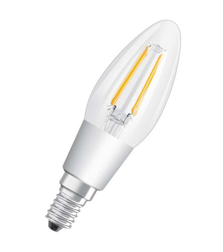 Lampe LED Clb40 Glow Dimmable E14 5W Blanc Chaud Clair Fil - Ampoules led