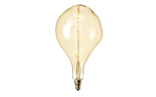 Led lamp filament E27 6W 300lumen diam165mm h270mm - LED-lampen