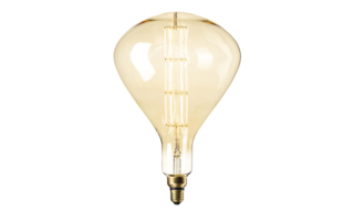 Led lamp filament E27 8W 800lumen diam245mm h388mm - LED-lampen