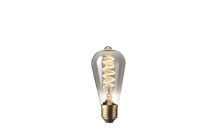 Led lamp filament E27 4W 100lumen diam64mm h140mm - LED-lampen
