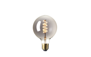 LED lamp filament E27 4W 100lumen diam125mm h170mm - LED-lampen