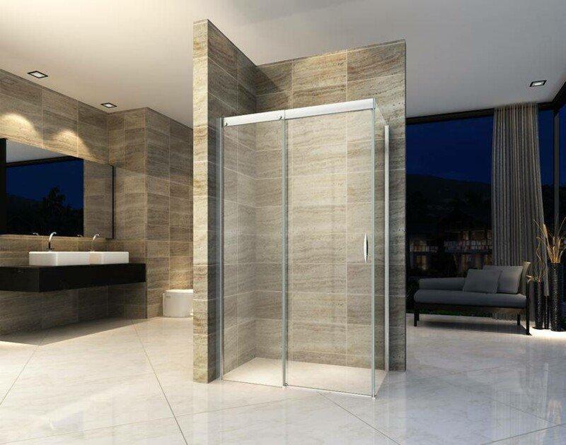 Zwart in de badkamer douchewanden met industriële look nieuws