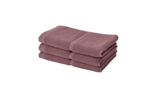 Serviette visit Aquanova Adagio 30x50cm rose wood - Serviettes & gants de toilette