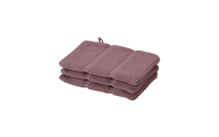 Gant de toilette Aquanova Adagio 16x22cm rose wood - Serviettes & gants de toilette